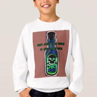 Sweatshirt Anti bouteille toxique de toxique de la citation