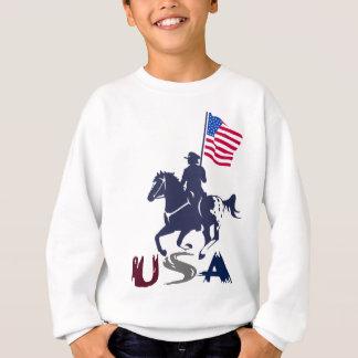 Sweatshirt Appaloosa des Etats-Unis d'équipe d'entraînement