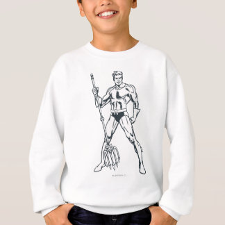 Sweatshirt Aquaman avec la fourche BW