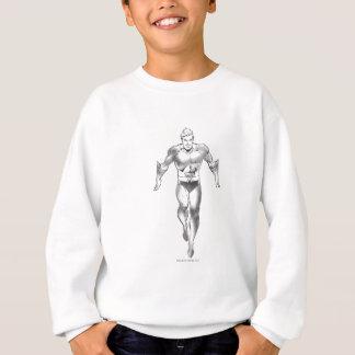 Sweatshirt Aquaman court BW