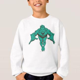 Sweatshirt Aquaman précipitant en avant - Teal