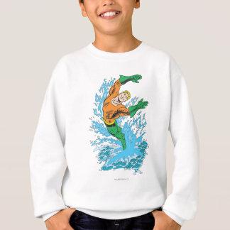 Sweatshirt Aquaman saute dans la vague