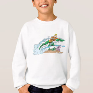 Sweatshirt Aquaman saute le corail