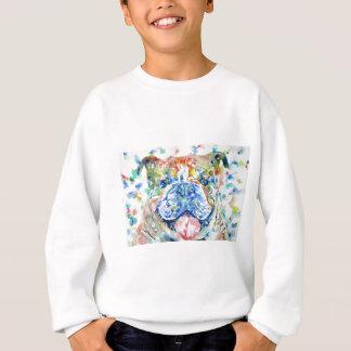 Sweatshirt aquarelle bulldog.8