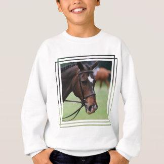 Sweatshirt Arabe mignon de la jeunesse de cheval