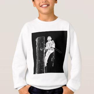 Sweatshirt Arboriste de chirurgien d'arbre à la tronçonneuse
