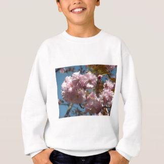 Sweatshirt arbre fleurissant rose