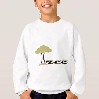 Sweatshirt arbre vert