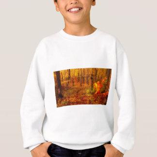 Sweatshirt Arbres d'érable d'or dans l'automne