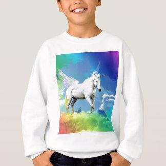 Sweatshirt Arc-en-ciel de licorne