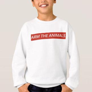 Sweatshirt Armez les animaux