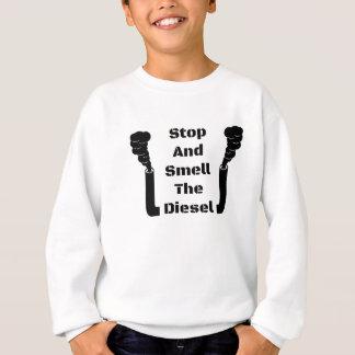 Sweatshirt Arrêtez et sentez le diesel