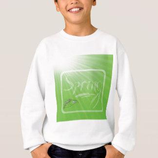 Sweatshirt Arrière - plan de ressort