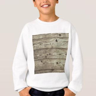 Sweatshirt arrière - plan en bois