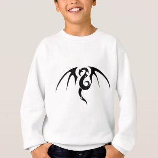 Sweatshirt Art abstrait de dragon
