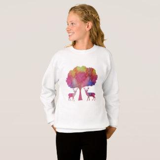 Sweatshirt Art de cerfs communs