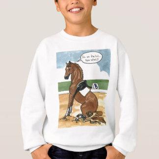 Sweatshirt Art de cheval SUR LE PEU maintenant ce qui