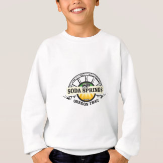 Sweatshirt art de traînée de Soda Springs Orégon