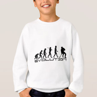Sweatshirt Art d'évolution de sport de hockey sur glace
