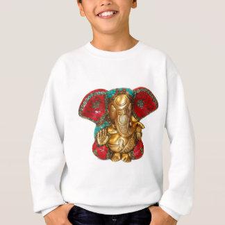 Sweatshirt Art indien de temple hindou de statue en laiton