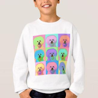 Sweatshirt Art op - Bichon Frise - Cody