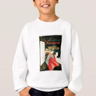 Sweatshirt Art vintage d'annonce de nourriture de restaurants