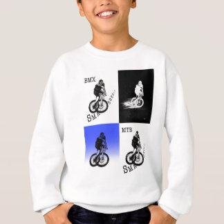 Sweatshirt Autocollants de CYCLISTE du cycliste MTB BMX de
