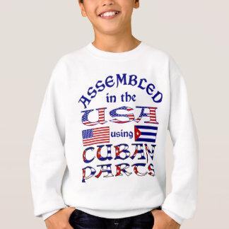 Sweatshirt Avant cubain de pièces