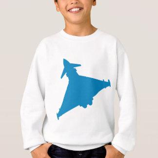 Sweatshirt Avion de chasse d'ouragan d'Eurofighter