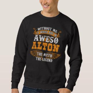 Sweatshirt Aweso ALTON une véritable légende vivante