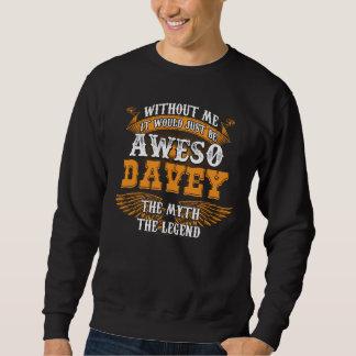 Sweatshirt Aweso DAVEY une véritable légende vivante