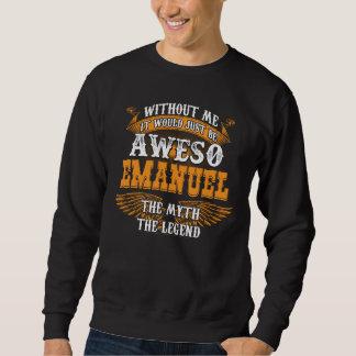 Sweatshirt Aweso EMANUEL une véritable légende vivante
