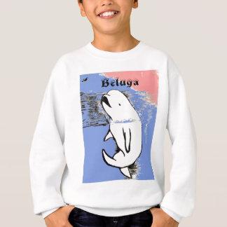 Sweatshirt Baleine de beluga