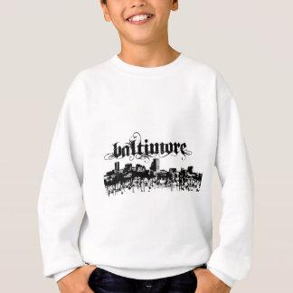 Sweatshirt Baltimore a mis dessus pour votre ville
