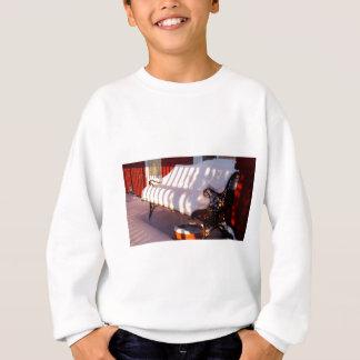Sweatshirt Banc couvert par neige
