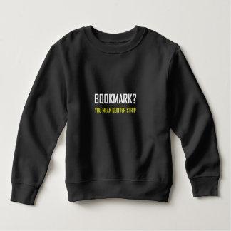 Sweatshirt Bande de renonceur de signet