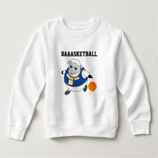 Sweatshirt Bande dessinée d'amusement d'un mouton ruisselant