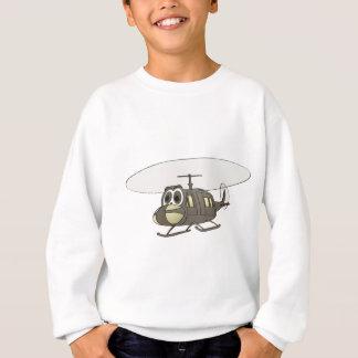 Sweatshirt Bande dessinée d'hélicoptère de Huey