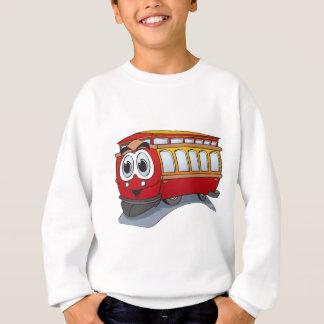 Sweatshirt Bande dessinée rouge de chariot