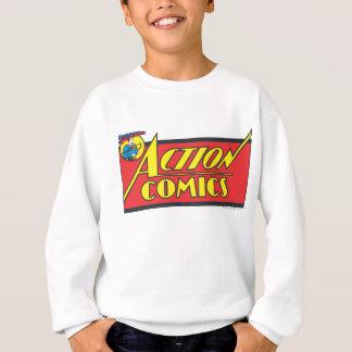 Sweatshirt Bandes dessinées d'action - Superman
