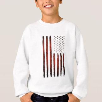Sweatshirt Bannière étoilée américaine vintage