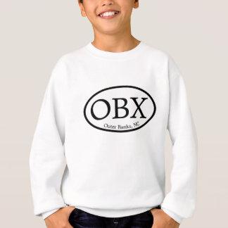 Sweatshirt Banques externes d'OBX ovales