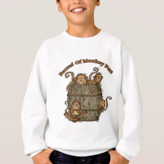 Sweatshirt Baril d'amusement de singe