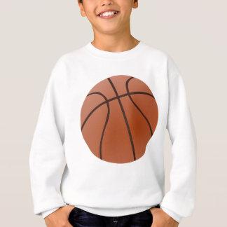 Sweatshirt Basket-ball orange