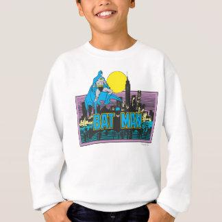 Sweatshirt Batman et lettres