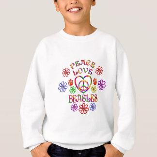 Sweatshirt Beagles d'amour de paix