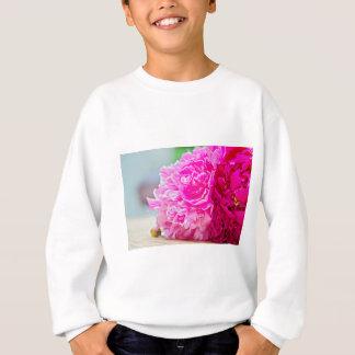 Sweatshirt Beauté rose de pivoine