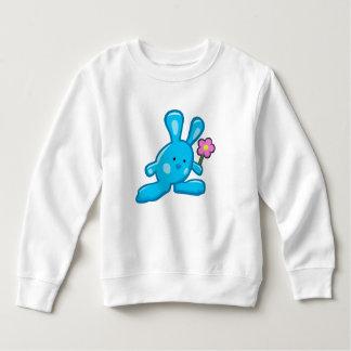 Sweatshirt Bébé - Lapin Bleu