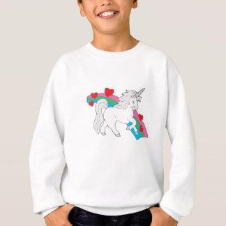 Sweatshirt Bébé-Licorne