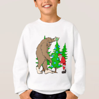 Sweatshirt Bigfoot et Noël de Père Noël